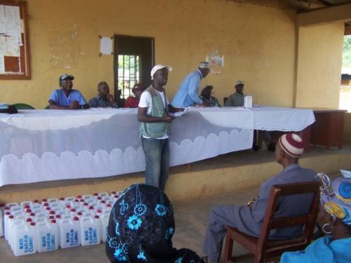Steven Gibrilla - NarSarah hired Ebola Response Monitor