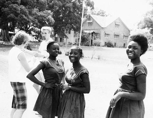 Harford School for Girls in Moyamba, Sierra Leone